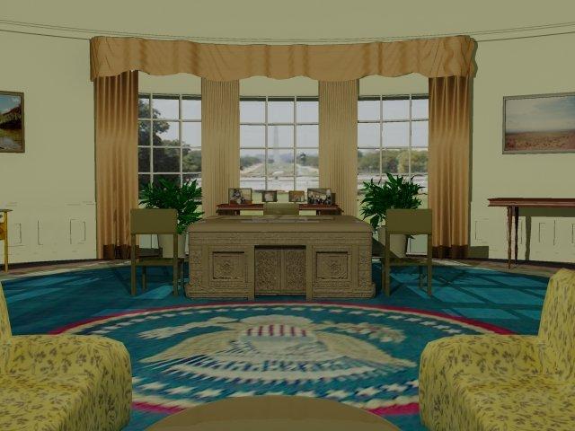 Rumine hans bureau ovale for Bureau ovale